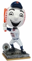 Mr. Met Mascot (New York Mets) 2015 Springy Logo Action Bobble Head Forever Collectibles