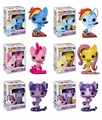 My Little Pony:The Movie Complete Set w/CHASE (6) Funko Pop!