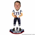 Nate Solder (New England Patriots) Super Bowl XLIX Champ NFL Bobble Head Forever Collectibles