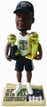 NBA Legends Newspaper Base Bobble Heads by Forever Collectibles