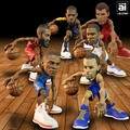 "IconAI 11"" NBA smALL-STARS Complete Set (6)"