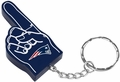 New England Patriots #1 Foam Finger Keychain