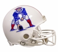 New England Patriots (1982-89) Riddell NFL Throwback Mini Helmet