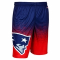 New England Patriots NFL 2016 Gradient Polyester Shorts By Forever Collectibles