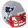 New England Patriots NFL 3D Helmet BRXLZ Puzzle By Forever Collectibles