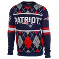 New England Patriots NFL Argyle Sweater CLARKtoys Exclusive