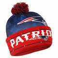 New England Patriots NFL Camouflage Light Up Printed Beanies