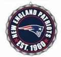 New England Patriots NFL Wall Decor Bottlecap Collection by Forever Collectibles
