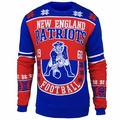 New England Patriots Retro Cotton Sweater by Klew