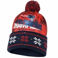 New England Patriots Super Bowl by Forever Collectibles Light Up Printed Beanie