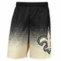 New Orleans Saints NFL Gradient Polyester Shorts By Forever Collectibles
