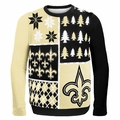 New Orleans Saints NFL Ugly Sweater Busy Block