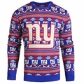 New York Giants NFL Aztec Ugly Crew Neck Sweaters by Forever Collectibles