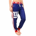 New York Giants NFL Poly Fleece Women's Jogger Pant by Klew