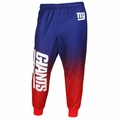 New York Giants NFL Polyester Gradient Men's Jogger Pant by Klew