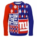 New York Giants NFL Ugly Sweater Busy Block