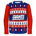 New York Giants NFL Ugly Sweater Wordmark