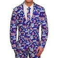 New York Giants NFL Repeat Logo Ugly Business Suit by Forever Collectibles