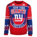 New York Giants Retro Cotton Sweater by Klew