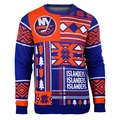New York Islanders NHL Patches Sweater by Klew