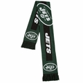 New York Jets NFL Big Logo Scarf By Forever Collectibles