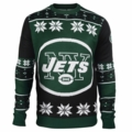New York Jets Big Logo NFL Ugly Sweater