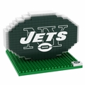 New York Jets NFL 3D Logo BRXLZ Puzzle By Forever Collectibles
