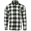 New York Jets NFL Checkered Men's Long Sleeve Flannel Shirt
