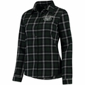 New York Jets NFL 2016 Women's Wordmark Long Sleeve Flannel Shirt