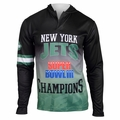 New York Jets Super Bowl III Champions Poly Hoody Tee