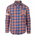 New York Knicks NBA Wordmark Flannel Long Sleeve Shirt