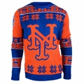 New York Mets Big Logo MLB Ugly Sweater