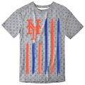 New York Mets Big Logo Flag Tee by Forever Collectibles