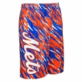 New York Mets MLB Repeat Print Polyester Shorts By Forever Collectibles