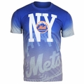 New York Mets MLB Gray Gradient Tee by Forever Collectibles