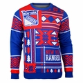 New York Rangers NHL Patches Ugly Sweater by Klew