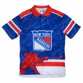 New York Rangers NHL Polyester Short Sleeve Thematic Polo Shirt