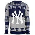 New York Yankees Big Logo MLB Ugly Sweater