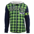 NFL Flannel Hooded Jacket by Klew