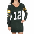 Aaron Rodgers #12 (Green Bay Packers) Player NFL Sweater Dress