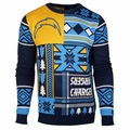 NFL Patches Ugly Sweaters by Klew