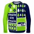 NFL Team BusyBlock Ugly Sweaters by Forever Collectibles
