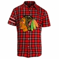 NHL Colorblock Short Sleeve Flannel