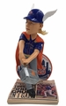 "Noah Syndergaard (Mets) ""Thunder"" 2-Home Run Game Newspaper Base 12"" Bobble Head (w/realistic hair material)"