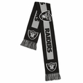 Oakland Raiders 2016 NFL Big Logo Scarf By Forever Collectibles