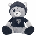 "Oakland Raiders Hide-A-Blanket 18""Mascot by FOCO"