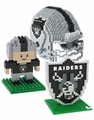 Oakland Raiders NFL 3D BRXLZ Puzzle Set By Forever Collectibles