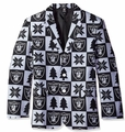 Oakland Raiders NFL Ugly Business Sport Coat Repeat Logo by Forever Collectibles