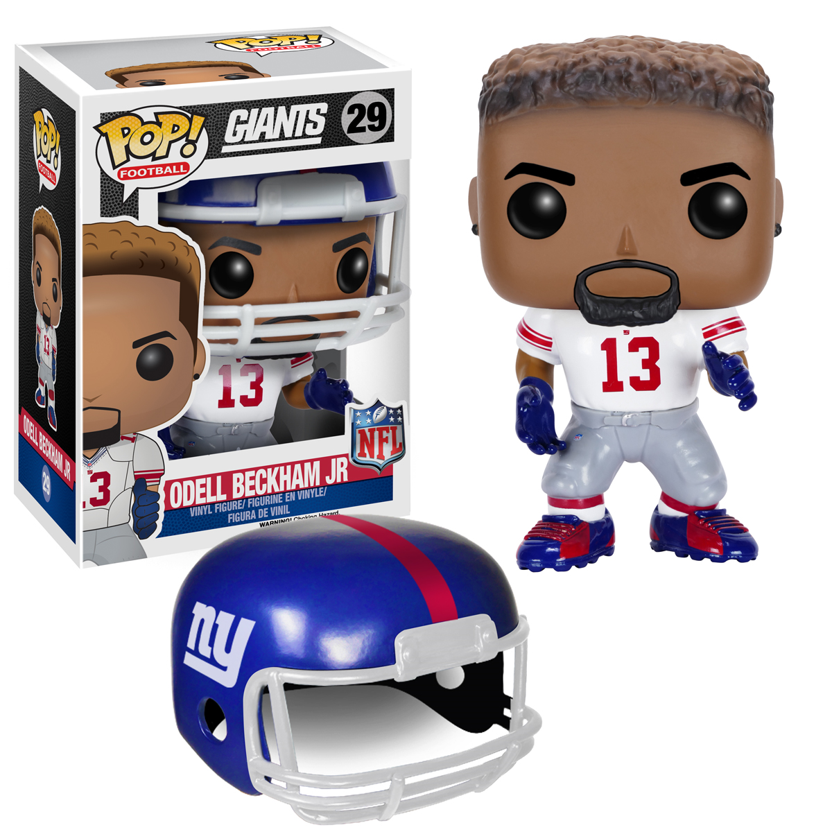 Odell Beckham Jr. New York Giants NFL Funko Pop! Series 2  eBay