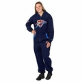 Oklahoma City Thunder Adult One-Piece NBA Klew Suit